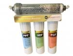 Тройной фильтр очистки + ионизация и ощелачивание